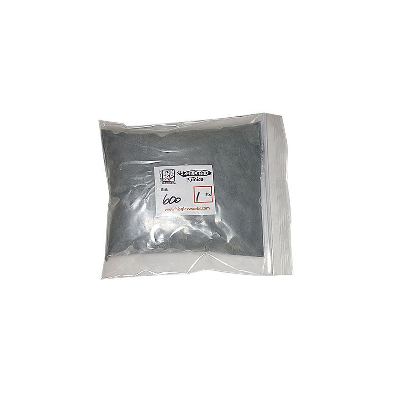 1 Pound 600 Grit Graded Silicon Carbide