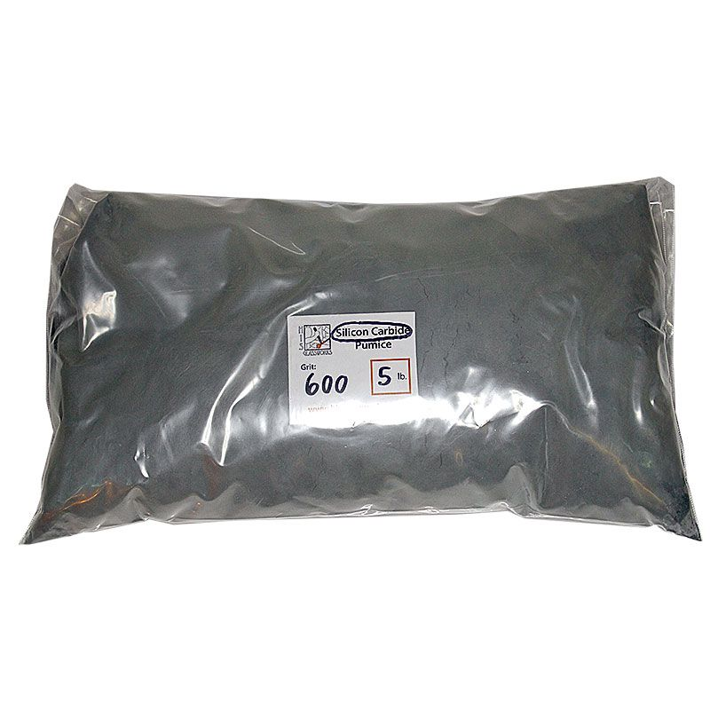 5 Pounds 600 Grit Graded Silicon Carbide