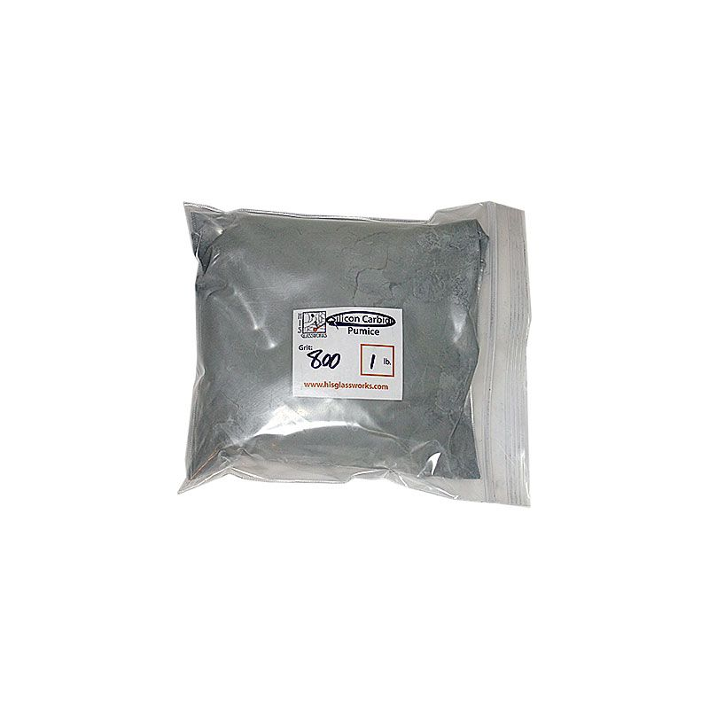 1 Pound 800 Grit Graded Silicon Carbide
