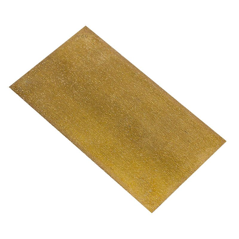 2-3/4 Inch x 5 Inch 60 Grit Velcro Backed Sintered Diamond Hand Strips