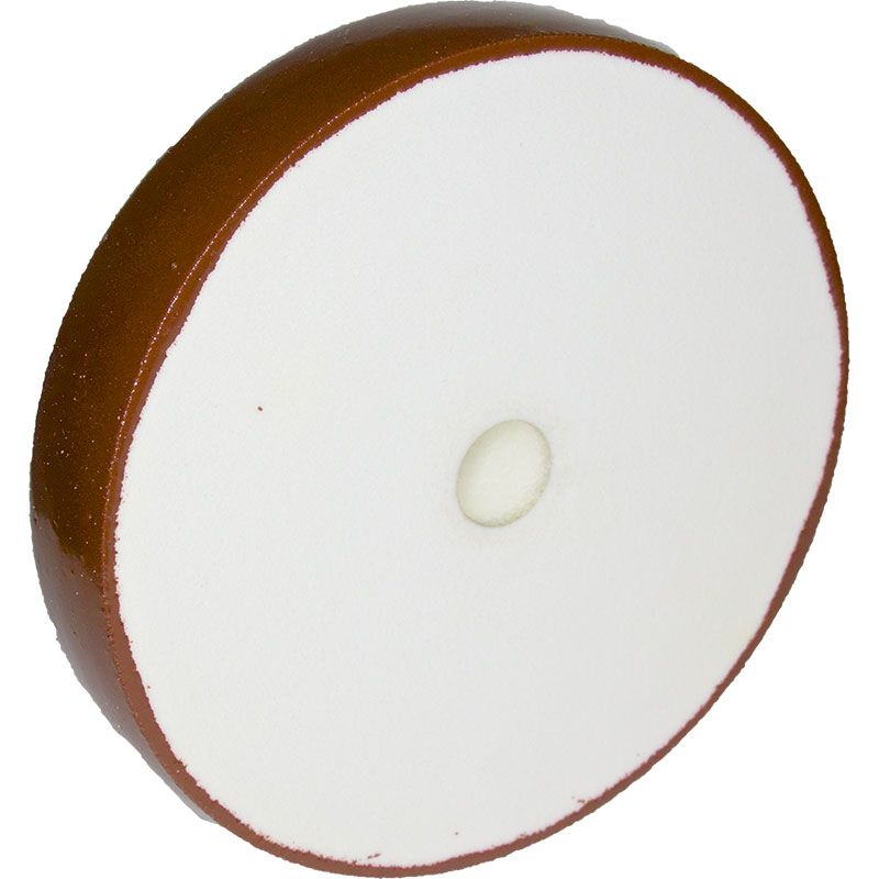 8 Inch x 1-1/2 Inch 325 Grit Radiused Diamond Smoothing Wheel