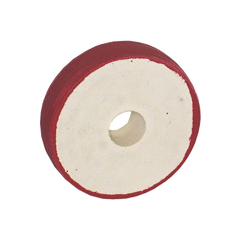 4 inch x 1 Inch 600 grit Resin Diamond Radiused Wheel on Felt Substrate
