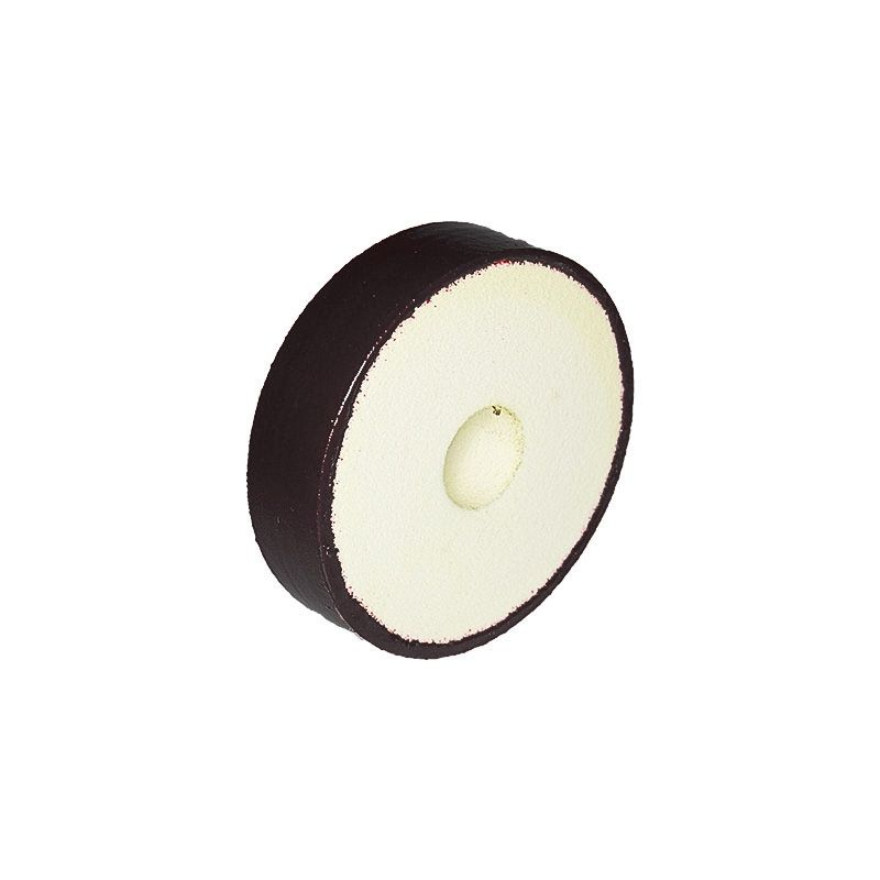 4 Inch x 1 Inch 100 Grit Flat Edged Diamond Smoothing Wheel