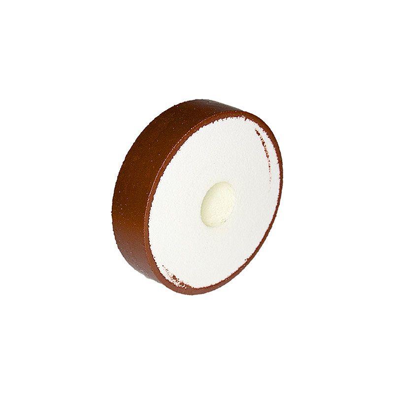 4 Inch x 1 Inch 325 Grit Flat Edged Diamond Smoothing Wheel