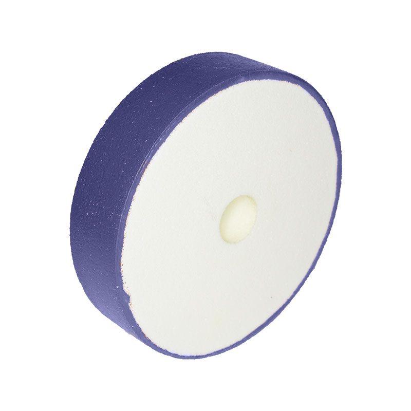 6 Inch x 1-1/2 Inch 220 Grit Flat Edged Diamond Smoothing Wheel