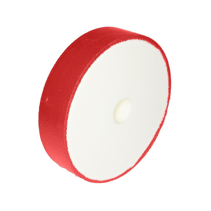 6 Inch x 1-1/2 Inch 600 Grit Flat Edged Diamond Smoothing Wheel