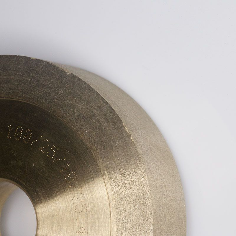 4 Inch x 1 Inch Square Edged (Strap) 230 Grit Sintered Diamond Wheel Second
