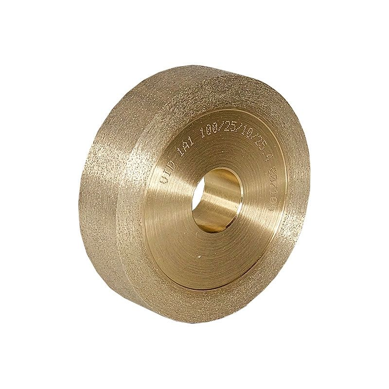 4 Inch x 1 Inch Flat Edged 80/100 Grit Sintered Diamond Wheel