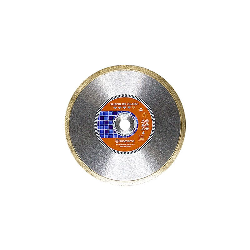 Husqvarna 7 Inch x .065 x 5/8 Inch Superlok Glass+ Fine Diamond Blade