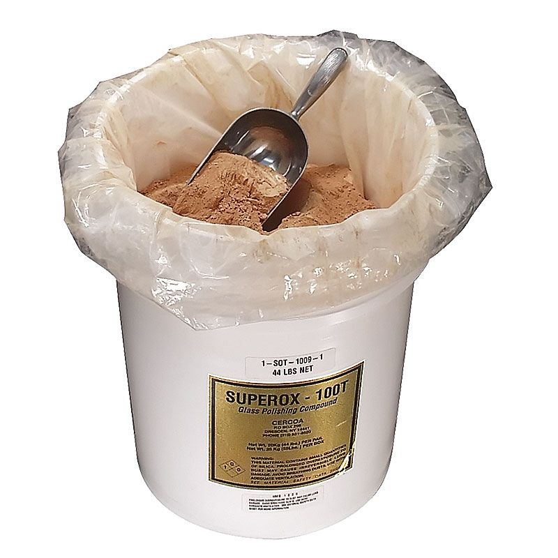 Superox 100-T Cerium Oxide Powder 44 Pound Pail (20kg)