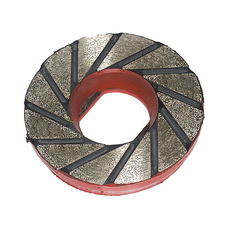 4 Inch Red Tornado Flex Diamond Disk