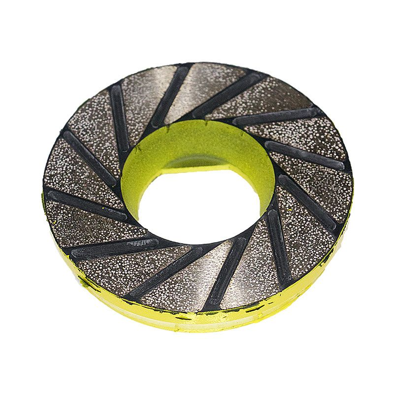 4 Inch Yellow Tornado Flex Diamond Disk