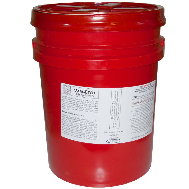 5 Gallon Vari-Etch Frosting Powder