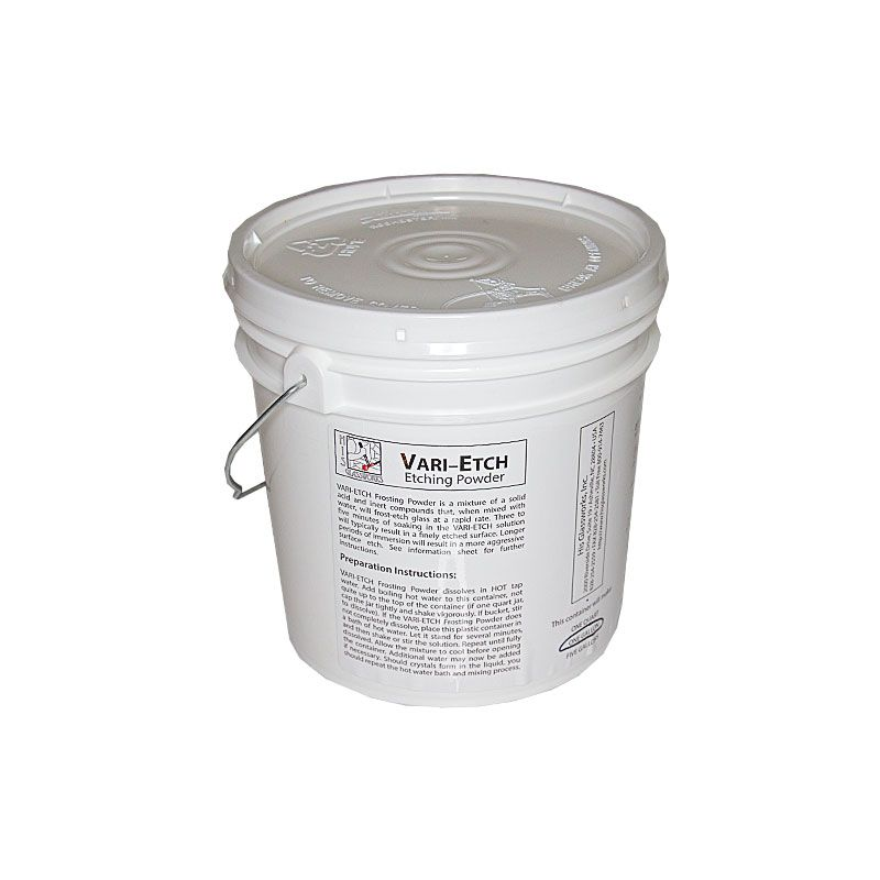 1 Gallon Vari-Etch Frosting Powder
