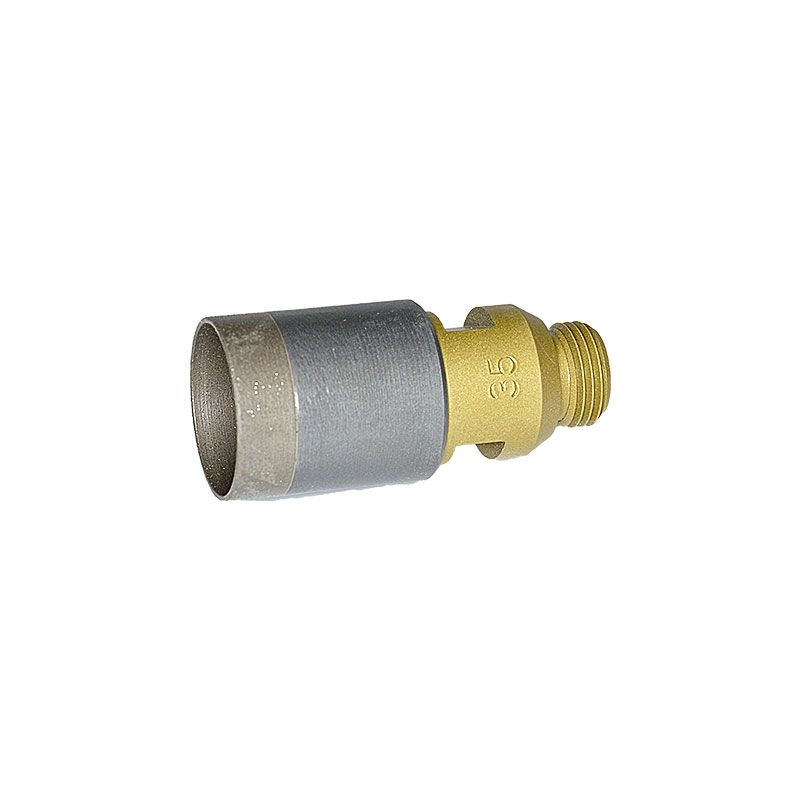 35mm (1-3/8 Inch) Sintered Diamond Core Drill on Belgium Adaptor
