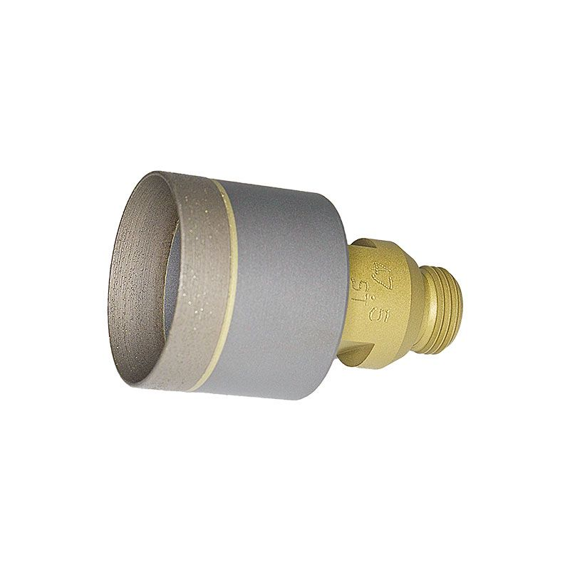 47mm  Sintered Diamond Core Drill on Belgium Adaptor