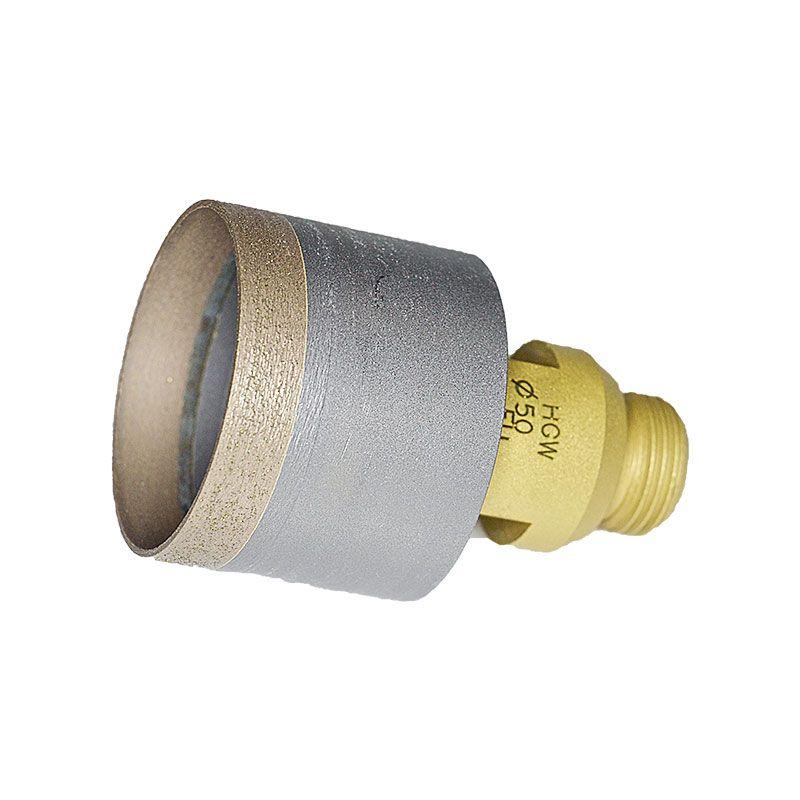 50mm Sintered Diamond Core Drill on Belgium Adaptor