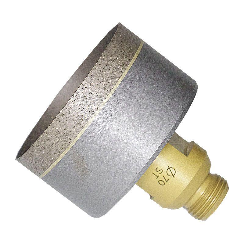 70mm (2-3/4 Inch) Sintered Diamond Core Drill on Belgium Adaptor