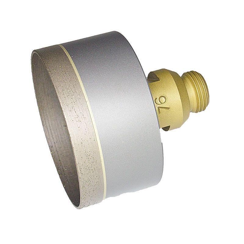 76mm (3 Inch) Sintered Diamond Core Drill on Belgium Adaptor