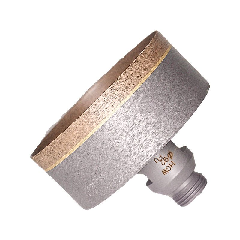 92mm (3-5/8 Inch) Sintered Diamond Core Drill on Belgium Adaptor (ID 89.8mm)